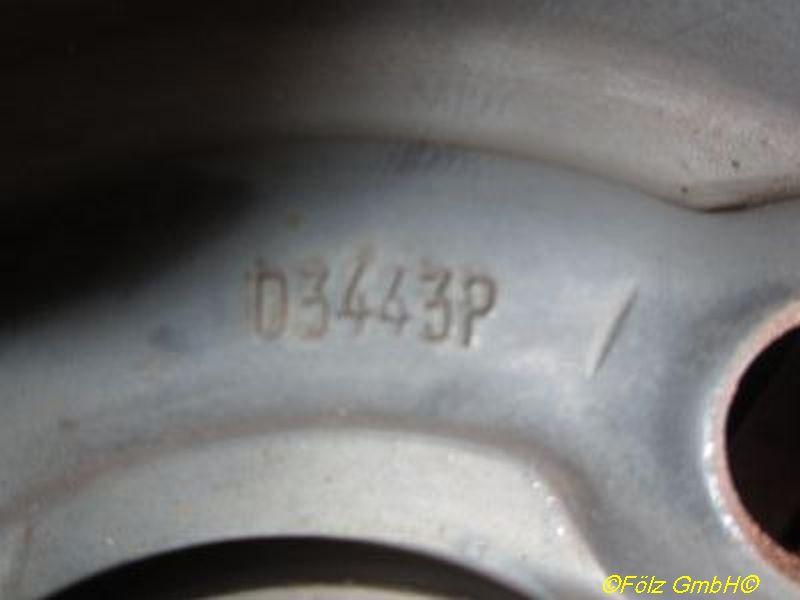 Felge: 5.5JX13 H2 ET46 LK4X100X56,5