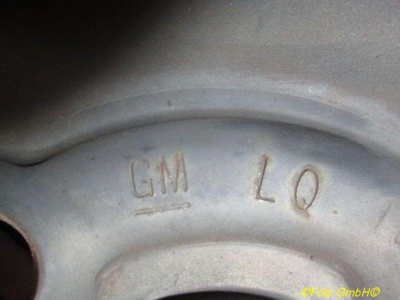 Stahlfelge 5.5JX13 H2 ET46 LK4X100X56,5