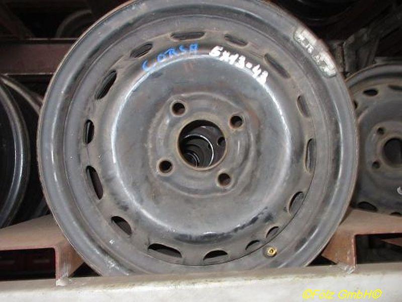 Stahlfelge 5JX13 H2 ET43 LK4X100X56,5
