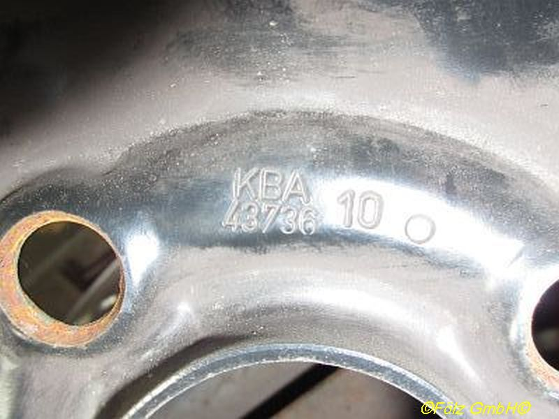 Stahlfelge 5.5JX14 H2 ET49 LK4X100X56,5