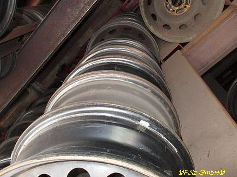 Stahlfelge 4.5JX13 H2 ET45 LK4X100X54