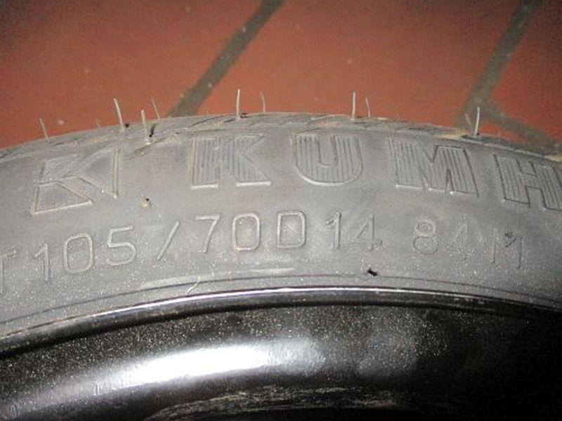 Komplettrad:105/70 R14 84M Auf Stahlfelge 4JX14 ET46 LK4X100X54