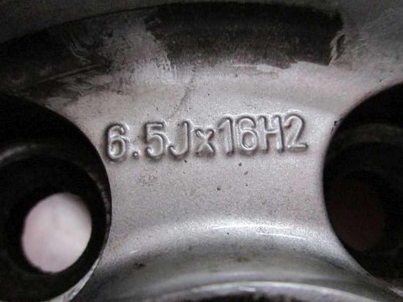 Felge: 6.5JX16 H2 ET43 LK5X100X57,11Satz(je4Stück)