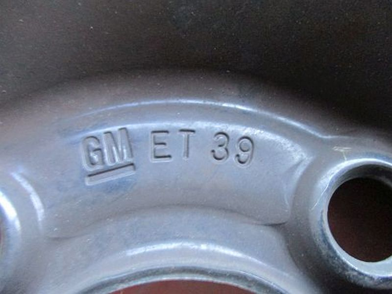 Felge: 5.5JX14 H2 ET39 LK4X100X56,51Satz(je4Stück)