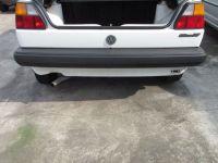 Stoßstange hinten Schwarz<br>VW GOLF II (19E, 1G1) 1.6